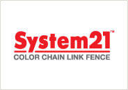 System21 Color Chain Link Fence